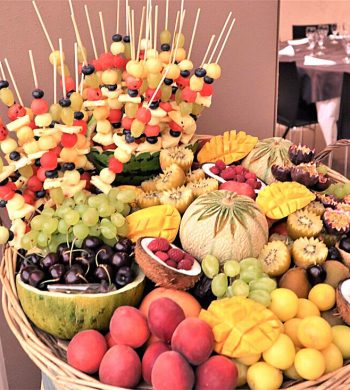 buffet de fruits d'été